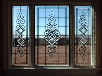 window glass design modern stained glass windows art glass kitchen bath home office brooks beveled edges