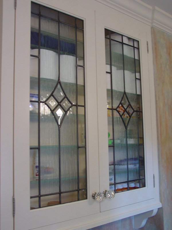 Cabinet doors inserts beveled stained glass etched art glass stained glass planetlyrics Image collections
