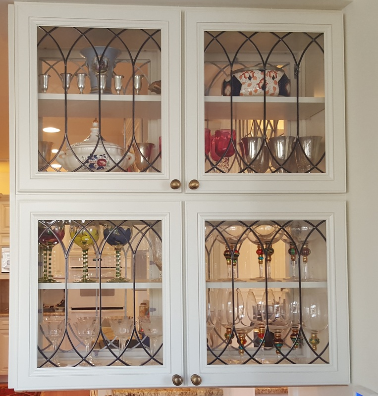 Cabinet Doors, Inserts, Beveled, Stained Glass, Etched, Art Glass ...
