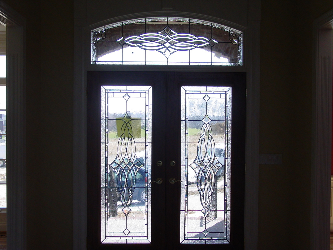 Beveled Glass Front Doors, Leaded, Stained Glass, Entry, Inserts ...