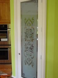 Pantry Door Design. Etching ... Part 92